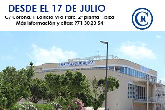 Nuevo centro de consultas externas en el Edificio Vila Parc (Ibiza)