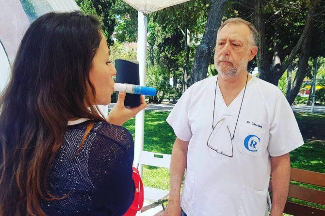 Consulta gratuita en la Unidad de Neumología con motivo del Día Mundial sin Tabaco (31 de mayo)