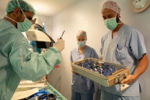 Un reto técnico para la Unidad de Neurocirugía de la Policlínica Ntra. Sra. del Rosario 1
