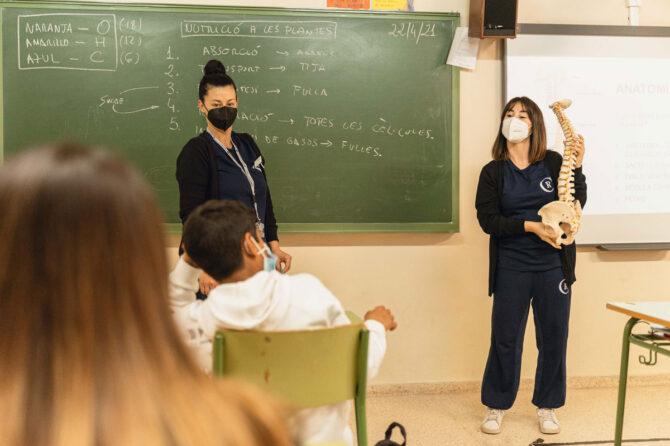 Fisioterapia en las aulas 1