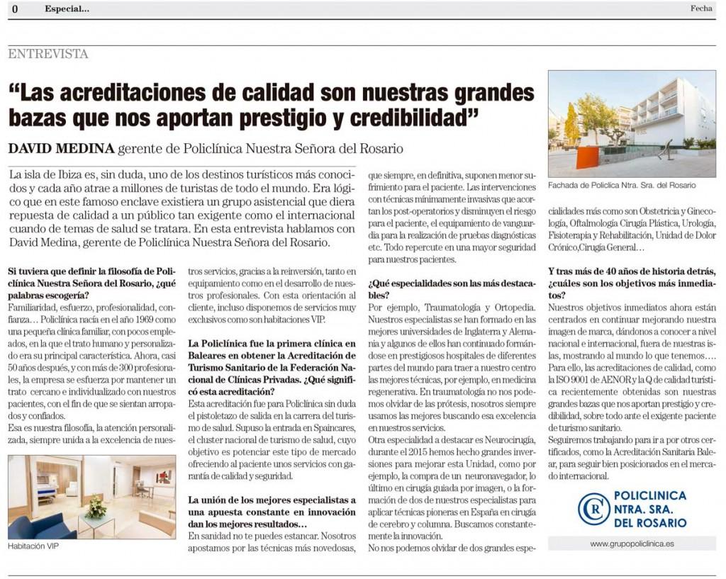 Entrevista David Medina El País