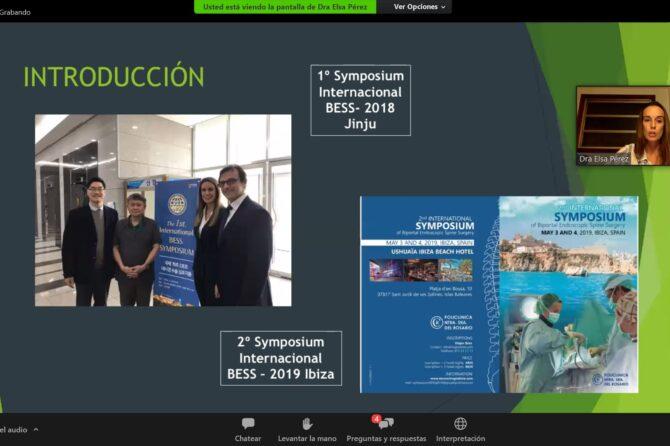 La Unidad de Neurocirugía de la Policlínica Nuestra Señora del Rosario participó la semana pasada en el primer Seminario Web sobre Cirugía Endoscópica Biportal de Columna. 1
