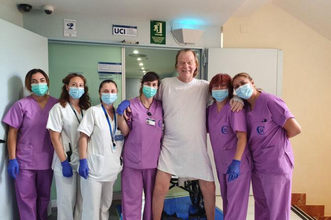 Pasa de UCI a planta el último paciente que quedaba en UCI ingresado por covid 1