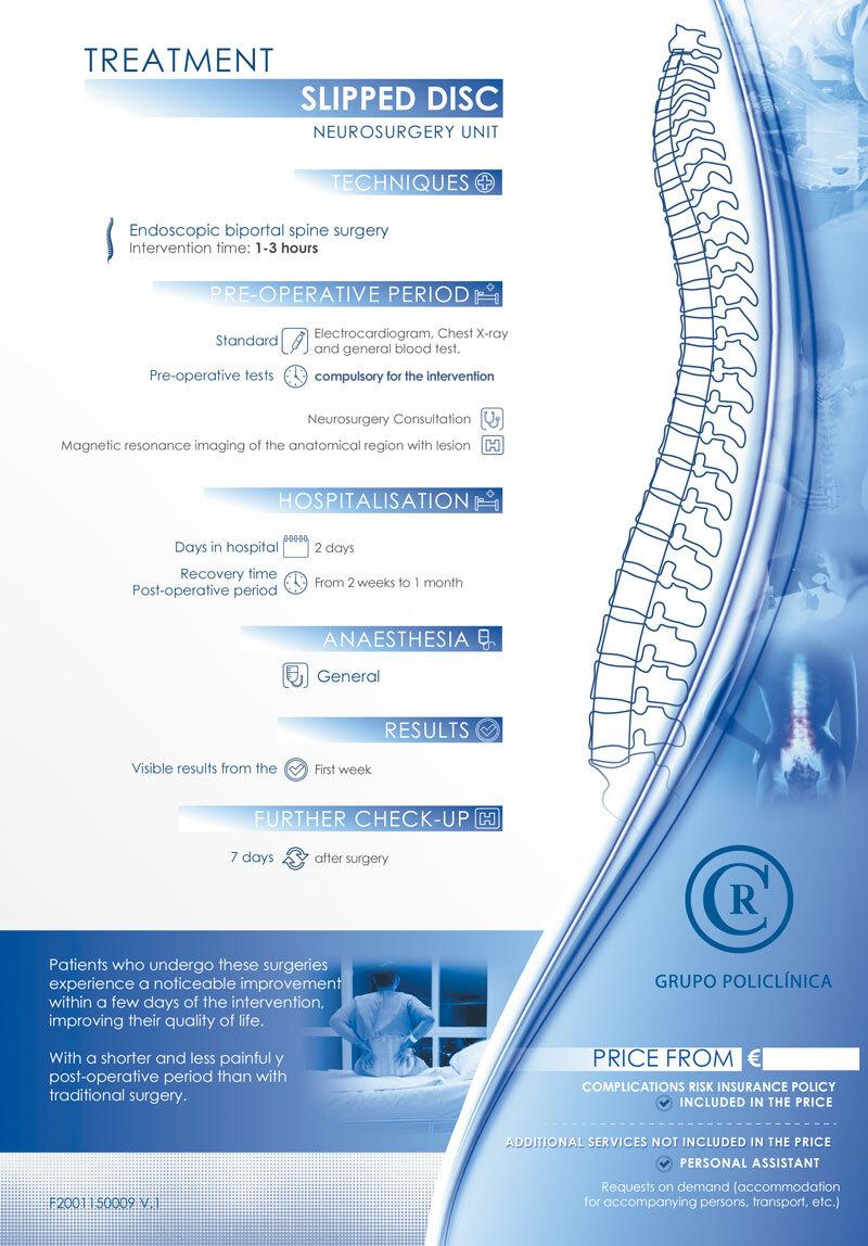 Behandlung von Bandscheibenvorfällen 1