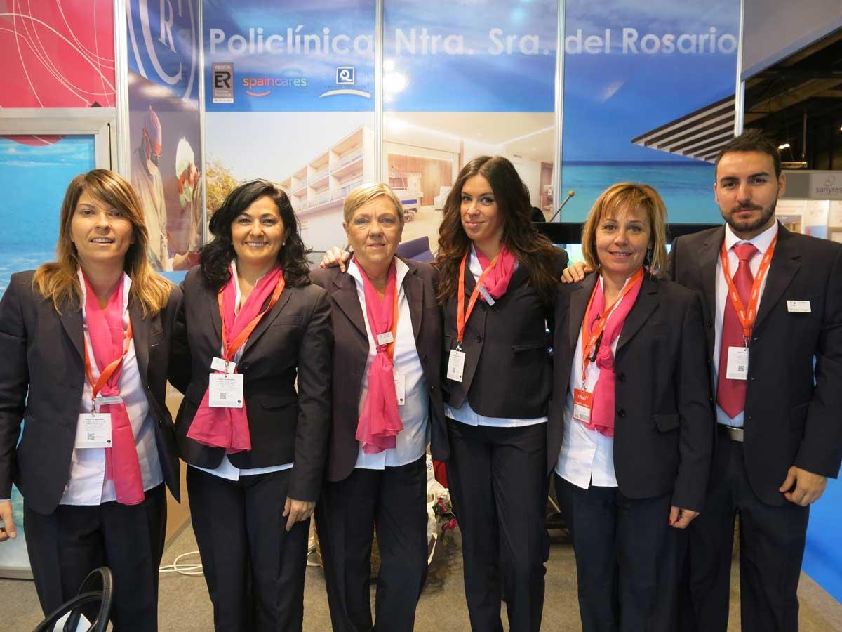 Grupo Policlínica en FITUR 2016