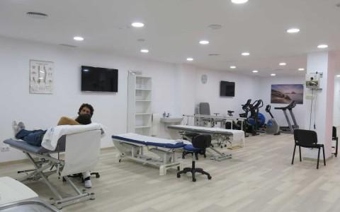 Ein neuer Saal für Physiotherapie und Rehabilitation in Ibiza