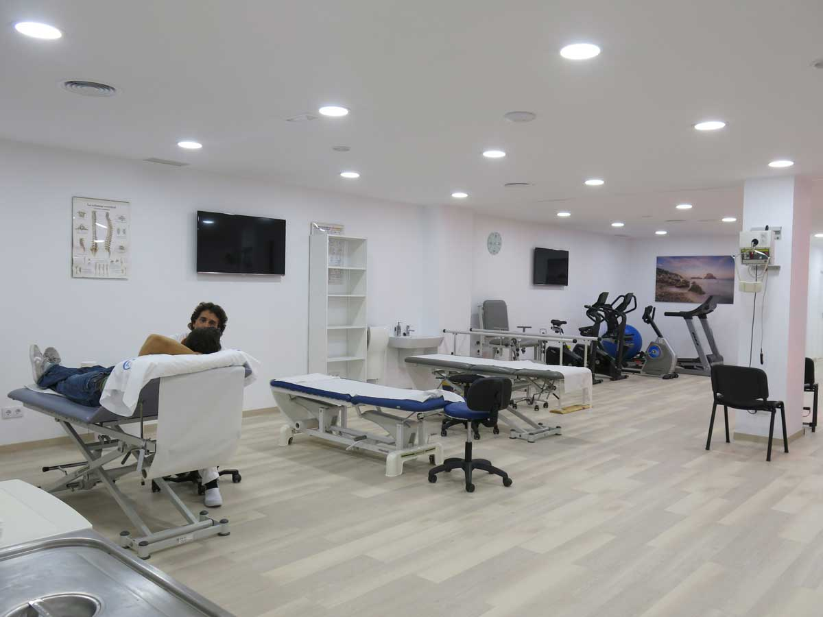 New Physiotherapy and Rehabilitation Room in Ibiza 1