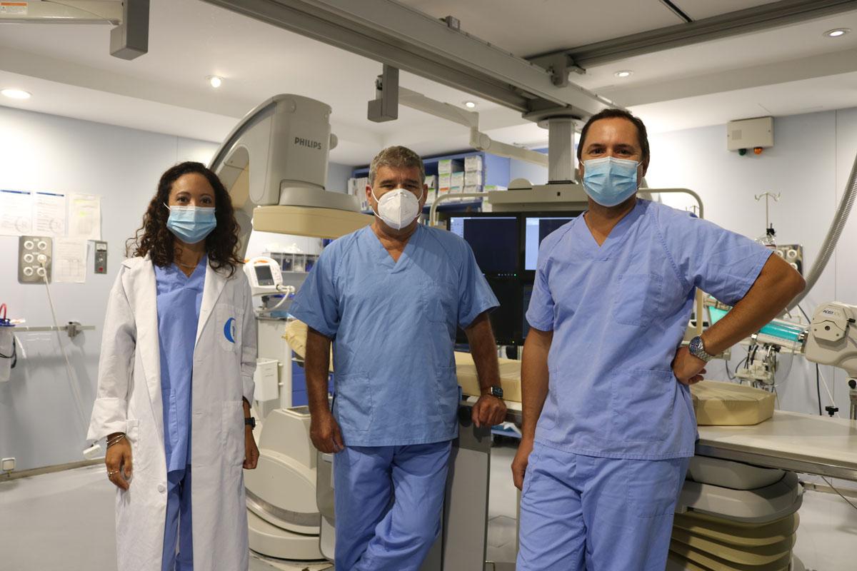 Equipo Cardiología Intervencionista