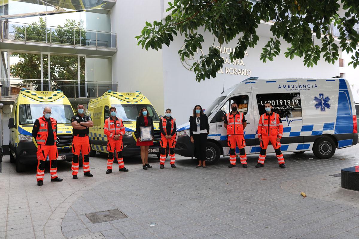 certificado AENOR ambulancias