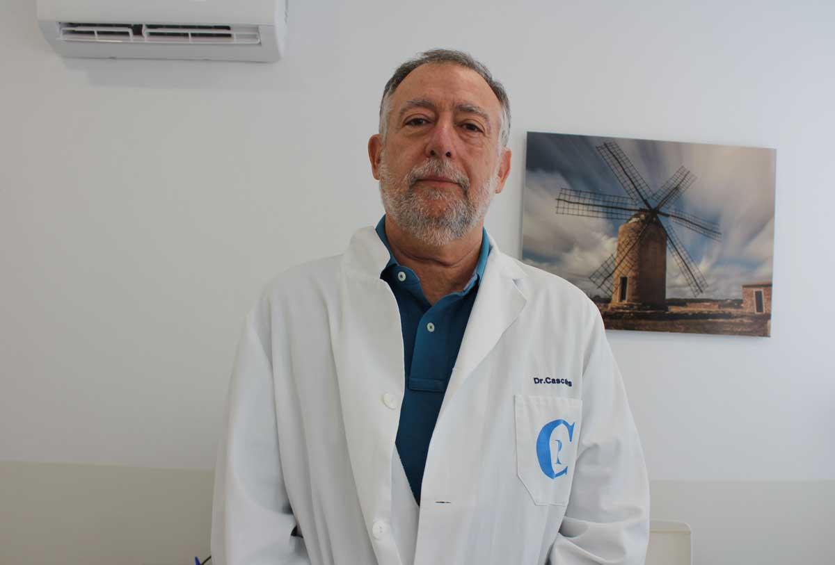 Entrevista al neumólogo Antonio Cascales 1