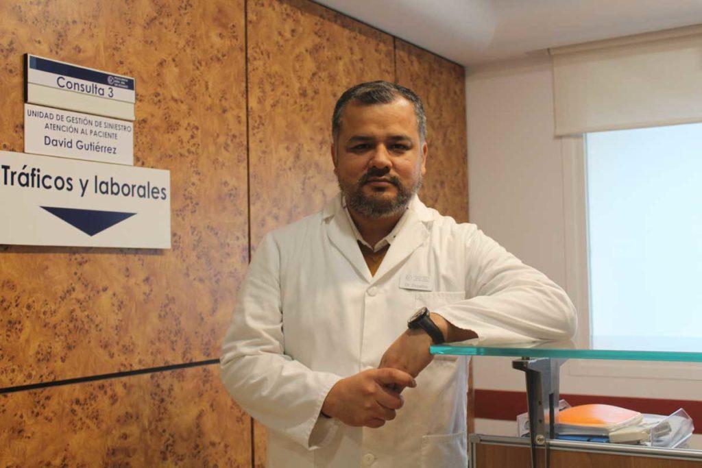 Entrevista al doctor Arturo Zevallos, director de la Unidad de Atención al Paciente de Tráficos 2