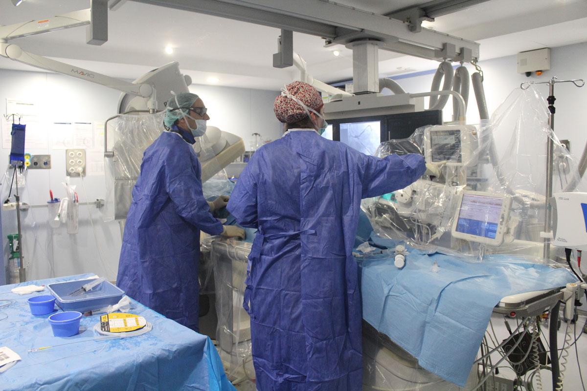 sala hemodinámica