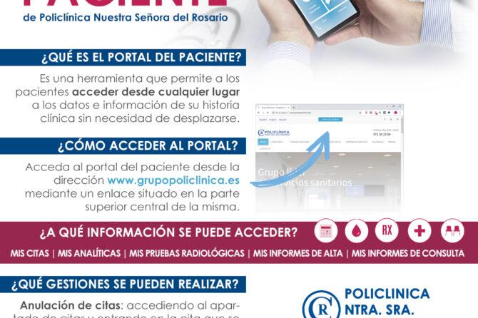 APP y Portal del Paciente de Policlínica Nuestra Señora del Rosario 1