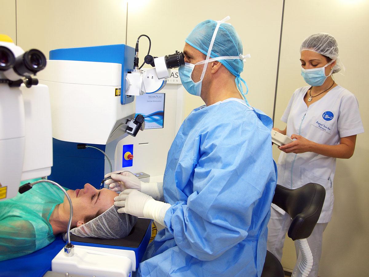 La operación ocular en la Policlínica Nuestra Señora del Rosario, cerca y segura para el paciente 1