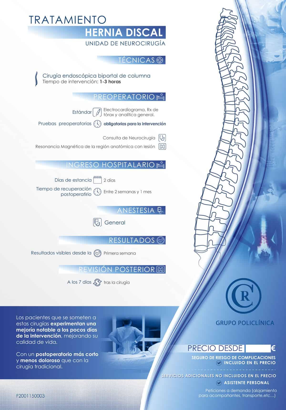 Tratamiento hernia discal 1