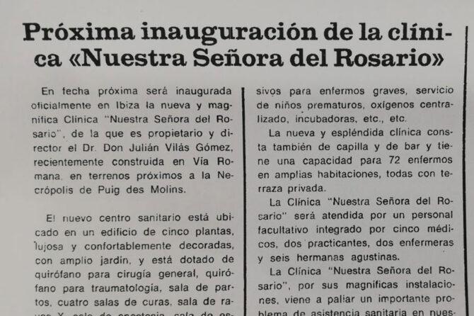 Y así hablaban de nosotros hace 50 años en la prensa de Ibiza…